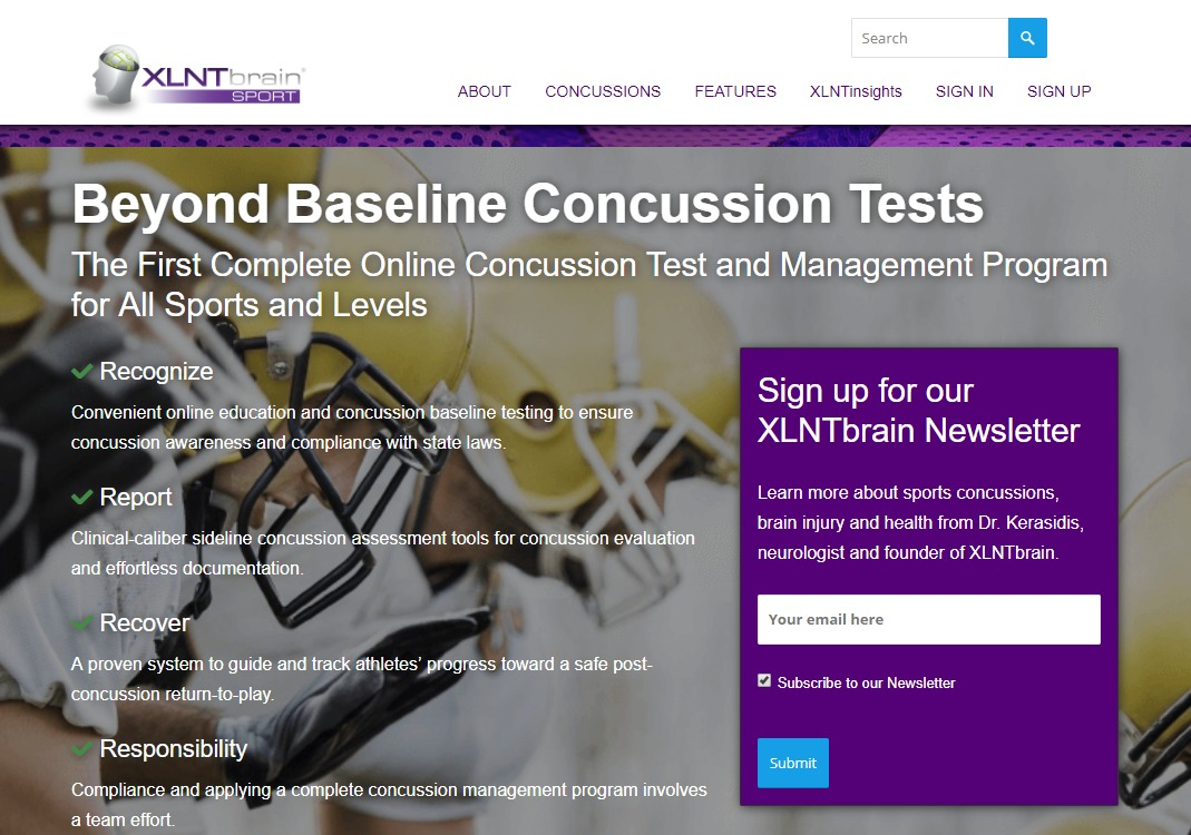 About XLNTbrain Sport | Chesapeake Neurology Associates